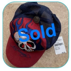 Ed Hardy Baseball Cap / Hat by Christan Audicier